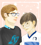 CLG Joey + TL Youngbin by remi-and-arden