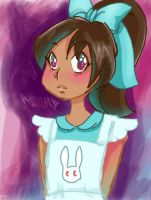 Alice in Wonderland: Wonderland version by rachelthegreat
