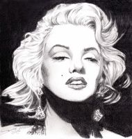 Marilyn Monroe by LauraMel