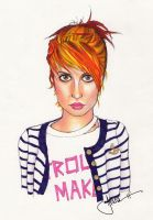Hayley Williams of Paramore by Vonni-Von