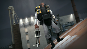 Gray's Humans - Demoman by PrincessBloodyMary