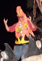 The Candy Corn Man by Isilian