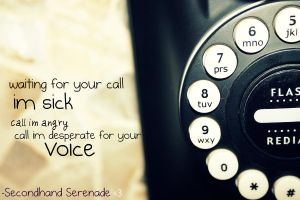Your Call- Secondhand Serenade by AlwaysWhisper