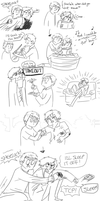 Post-holiday doodles by brewhay