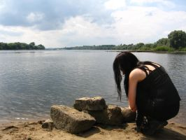 Water and the sky 7 by Black-Ofelia-Stock