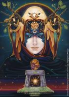 Destiny - Dreams of Gaia Tarot by ravynnephelan