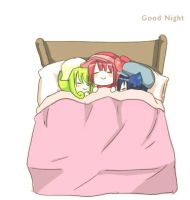 Good Night with Charas by izumi07