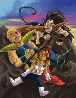 DBZ- The Morning After by FrontierComics
