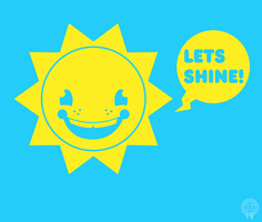 lets shine runner up sticker.. by armadilloboy