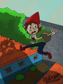 Roofjump by AllieDrawer