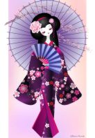 Origami Doll 2 by minercia