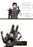 Dragon Age: Who's That You Ask? by Earthsoul22