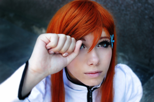 Orihime-chan: Aaah?.. by Otohime-Hina