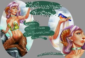 Teaser  Amaltheia the Faun Princess by soggykitten