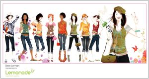 teen fashion illustration by BreeLeman