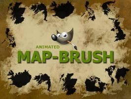 GIMP-Maps-Brush by Chrisdesign