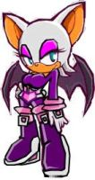Rouge SH in sonic battle by Ineoma