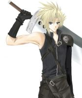 Cloud Strife by alienator279