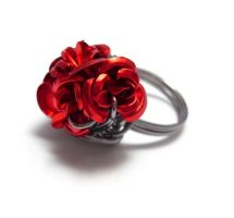 Beauty Inspired Rose Ring by sojourncuriosities