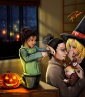 Konoha Halloween Party by RamaChan