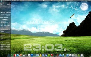 Rainmeter_Desktop_SLI_090404 by soarlin