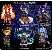 Forgotten Races Adopts Sheet AUCTION[CLOSED] by SeraphEnigma23