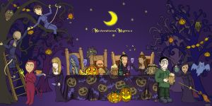 Neverwinter nights 2 Halloween by Agregor