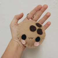Big Cookie Keychain by CosmiCosmos