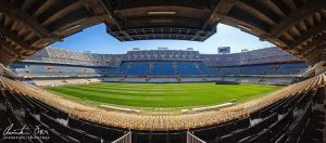 Estadio Mestalla Valencia by Nightline