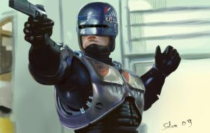 Robocop by SALVUKY
