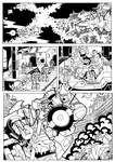 Transformers: The Turn Of The Wheel, Page1 INKS by Natephoenix