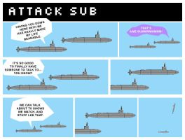 Attack Sub by swordgun