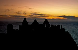 Summer Night at Dunluce Castle by ciaranreilly