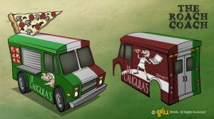 Gears and Guts : Pizza Truck by Sodano