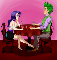 Commission - Delicious Date by Pia-sama