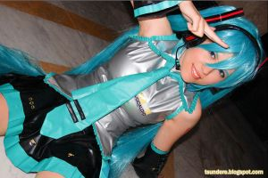 Vocaloid Cosplay Contest - #122 Paula Teixeira by miccostumes