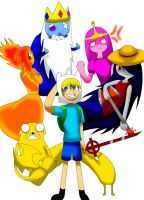 adventure time by ekis3010