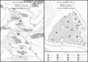 City of Fingard by felipecarbus
