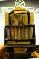 Custom Miniature Books for The Black Room by skphile