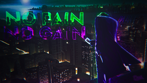 Wallpaper Joker (No Pain No Gain) by DarkevilYT