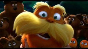 The Lorax have pretty eyes by CookiesAndCakes
