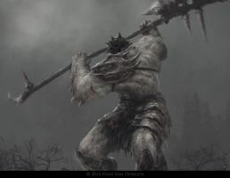 Glaive Warrior Giant by MetolGuy