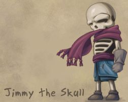 Jimmy The Skull by Saraquael