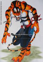 Tai Fu the Tiger by TheKarelia