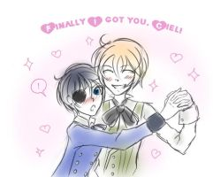 Finally I got you, Ciel by DarkNekoChi
