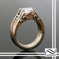 New Interlocking Steampunk Ring by mooredesign13