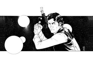 Solo... Han Solo by Hodges-Art