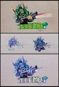 Just a litle fun Teemo by Agitrem