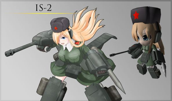 IS-2 Tank by Nymbryxion101