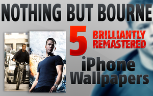 Bourne iPhone Wallpapers by pwn247